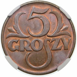5 groszy 1937