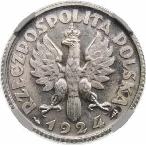 1 złoty Żniwiarka 1924 Paryż Wyjątkowa