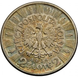 2 złote Piłsudski 1934