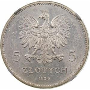 5 złotych Nike 1928 BZM