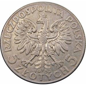 5 złotych Głowa Kobiety 1932 ZZM