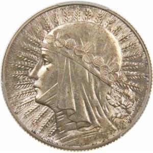 5 złotych Głowa Kobiety 1933