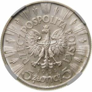 5 złotych Piłsudski 1935 Wyjątkowa