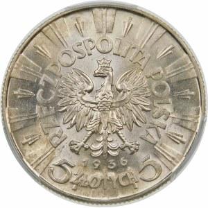 5 złotych Piłsudski 1936 Wyjątkowa