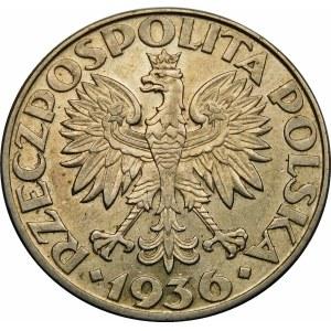 5 złotych Żaglowiec 1936
