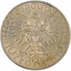 10 złotych Głowa Kobiety 1932 ZZM