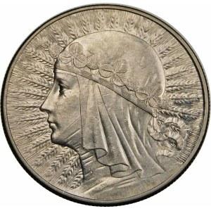10 złotych Głowa Kobiety 1932 BZM
