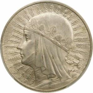 10 złotych Głowa Kobiety 1933
