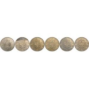 ZESTAW 10 złotych Piłsudski - 6 sztuk