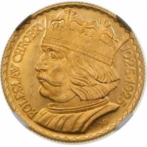 10 złotych Chrobry 1925 Wyjątkowy