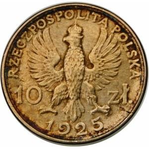 PRÓBA 10 złotych Kobieta i Mężczyzna 1925