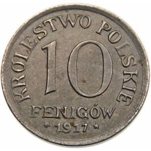 10 fenigów 1917 FF