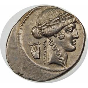 Republika Rzymska, P. Clodius M. f. Turrinus 42 p.n.e., denar 42 p.n.e., Rzym
