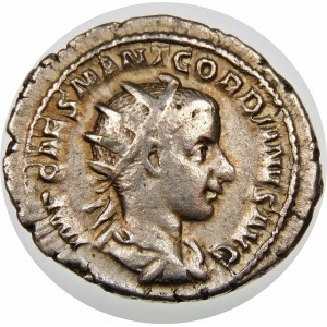 Cesarstwo Rzymskie, Gordian III (238–244), antoninian 240, Rzym