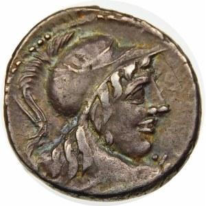 Republika Rzymska, Cn. Cornelius Lentulus Clodianus 88 p.n.e, denar 88 p.n.e., Rzym