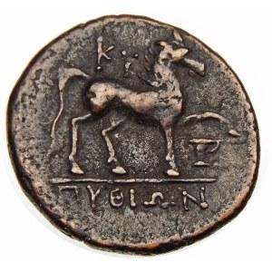 Grecja, Aeolis-Kyme, brąz 250–190 p.n.e.
