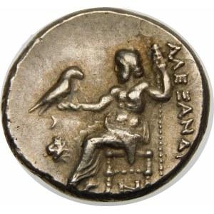 Grecja, Tracja, Lizymach (323–281 p.n.e.), drachma ok. 301-297 p.n.e.