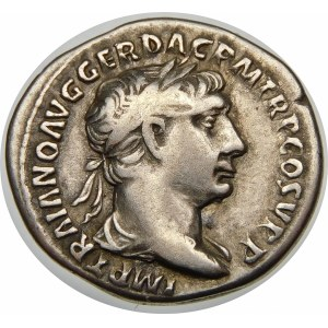Cesarstwo Rzymskie, Trajan (98-117), denar 103-105, Rzym