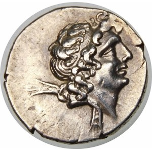 Grecja, Kapadocja, Ariarates IX (101–86 p.n.e.), drachma ok. 101-86 p.n.e.