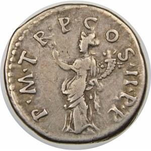Cesarstwo Rzymskie, Trajan (98-117), denar 100, Rzym