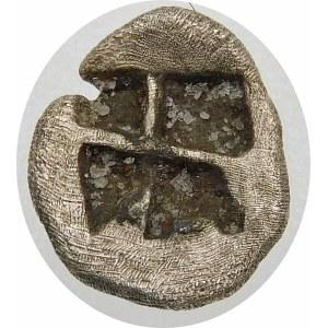 Grecja, Myzja-Kyzikos, hemiobol ok. 600-550 p.n.e.