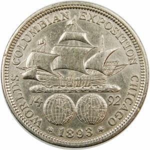 Stany Zjednoczone Ameryki (USA), 1/2 dolara 1893, Filadelfia – Columbian Exposition