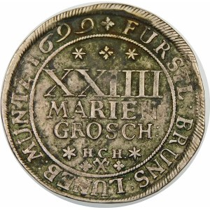 Niemcy, Brunszwik, Rudolf August i Antoni Ulryk (1685–1704) - XXIIII Mariengroschen 1699 HCH