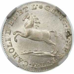 Niemcy, Hannower, Jerzy III (1814–1820), 1/12 talara 1816, Hannower