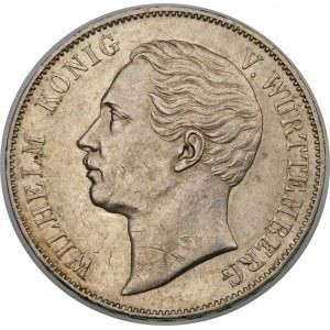 Niemcy, Wirtembergia, Wilhelm I (1816–1864), talar 1864, Stuttgart