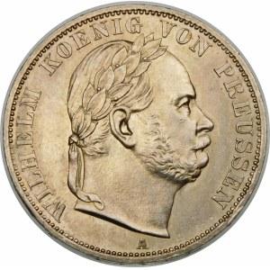 Niemcy, Prusy, Wilhelm I (1861–1888), talar 1866 A, Berlin