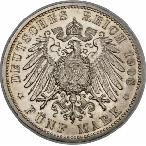 Niemcy, Badenia, Fryderyk I (1856–1907), 5 marek 1906, Karlsruhe