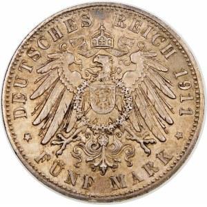 Niemcy, Bawaria, Luitpold (1821–1912), 5 marek 1911 D, Monachium