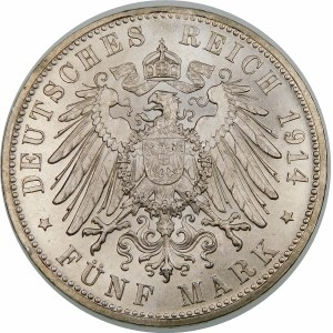 Niemcy, Bawaria, Ludwik III (1913–1918), 5 marek 1914 D, Monachium