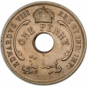 Wielka Brytania, Brytyjska Afryka Zachodnia, Edward VIII 1936, 1 pens 1936, Birmingham