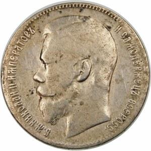 Rosja, Mikołaj II (1894–1917), rubel 1898, Bruksela