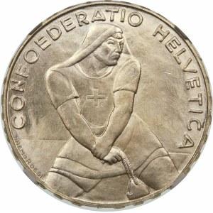 Szwajcaria, 5 franków 1939, Berno
