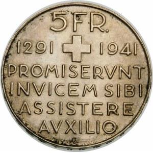Szwajcaria, 5 franków 1941, Berno