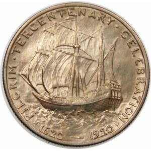 Stany Zjednoczone Ameryki (USA), 1/2 dolara 1920, Filadelfia – Ojcowie pielgrzymi