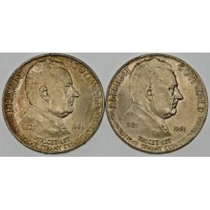 Czechosłowacja 100 koron, 1951 – zestaw (szt. 2)