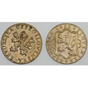 Czechosłowacja 10 koron, 1954 i 1955 – zestaw (szt. 2)