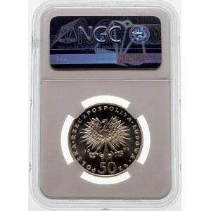 50 złotych 1974 Fryderyk Chopin - srebro