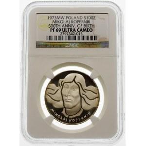 100 złotych 1973 Mikołaj Kopernik - srebro