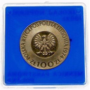 100 złotych 1974 Mikołaj Kopernik - srebro