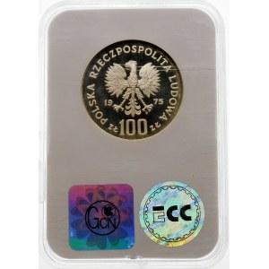 100 złotych 1975 Zamek Królewski - srebro