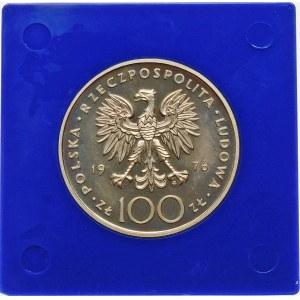 100 złotych 1976 Kazimierz Pułaski - srebro