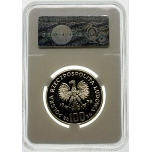 100 złotych 1978 Janusz Korczak - srebro