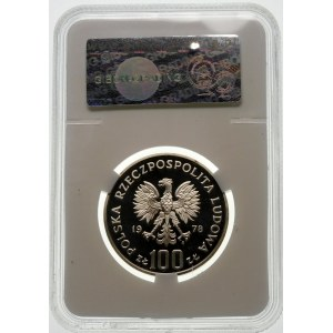 100 złotych 1978 Łoś - srebro