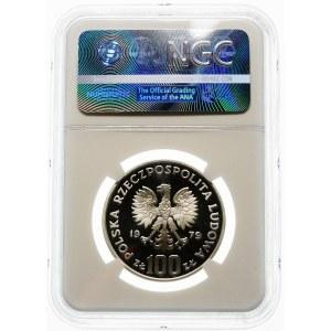 100 złotych 1979 Ryś - srebro