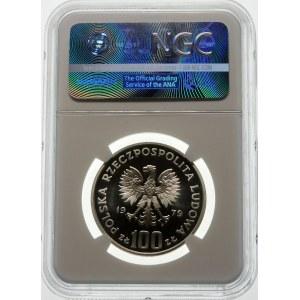 100 złotych 1979 Henryk Wieniawski - srebro