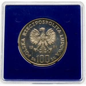 100 złotych 1981 Władysław Sikorski - srebro